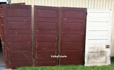 4 Antique Victorian Architectural Salvage Horizontal Panel Farm House Doors