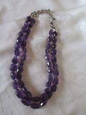 Choker Amethyst Fine Necklaces & Pendants