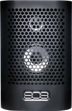 808 Audio HEX TL Rechargeable Portable Speaker w/ Bluetooth Black
