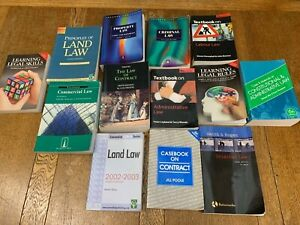Law Degree Textbooks Bundle (Constitutional;Land;Contract;Property;Criminal etc)