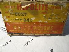 Morris 1939-1947 Hepolite R.S. 8027 +040 pistons rings set 10hp