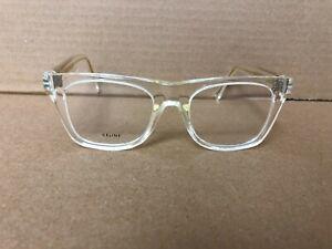 Authentic CELINE CL50018I - 039 Eyeglasses Clear / Transparent 49-19 145