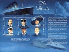 Guyanese Sheet Boat & Nautical Postal Stamps