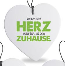 """Formano Herz Häng. 15cm """"zuhause"""" 749116"""