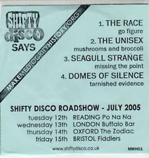 (BS379) The Race / The Unisex / Seagull Strange / Domes of Silence - DJ CD