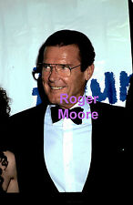 ROGER MOORE JAMES BOND 007 ORIGINAL 35MM TRANSPARENCY NEGATIVE 2X2 PHOTO SLIDE