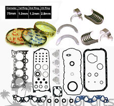 96-00 Honda Civic Del Sol 1.6L SOHC D16Y D16Y5 D16Y7 D16Y8 GRAPHITE RE-RING KIT