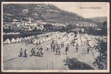 PAVIA GODIASCO SALICE TERME 10 ACCAMPAMENTO MILITARE 1a GUERRA Cartolina 1916