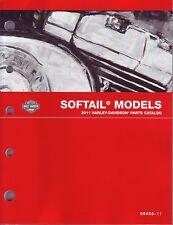 HARLEY Teilebuch Softail 2011 FXS Blackline FLST FXST Teilekatalog OEM 99455-11A