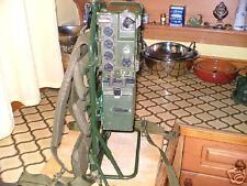 CLANSMAN MILITARY PRC351 VHF MANPACK in WORKING ORDER