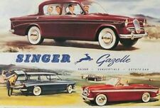 SINGER GAZELLE SERIES 1, 2, 2A AND 3C,  FULL COPPER BRAKE PIPE SET