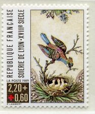 FRANCE TIMBRE NEUF  N° 2612  ** CROIX ROUGE  OISEAU NID AVEC OISILLONS