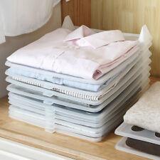 5*Clothes T-Shirt Folder Kids Magic Folding Boards Flip Laundry Organizer Plates