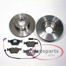 BMW E81 E82 120 120D 125 DELANTERO DISCOS DE FRENO BREMBO 300MM Original Almohadillas Sensor