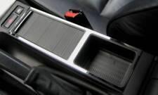 D BMW E46 Chrom Rahmen für die Ablage in der Mittelkonsole - Edelstahl poliert