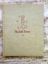 THE LITTLE PRINCE by Antoine De Saint-Exupery  *1st EDITION* (HB 1943)