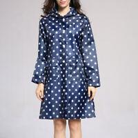 Womens Lightweight Packable Outdoor Hooded Waterproof Breathable Rain Jacket