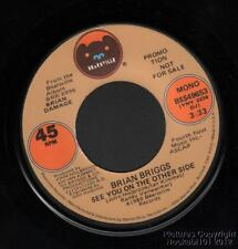 Hear 1981 Brian Briggs New Wave Neo Rockabilly DJ 45 (See You On the Other Side)