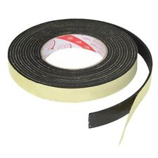 5m Black Single Sided Self Adhesive Foam Tape Closed Cell 20mm Wide x 3mm T W3E5