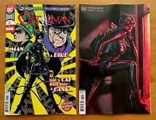 CATWOMAN 25 2020 Main Cover A + Bermejo Variant Set Joker War DC NM