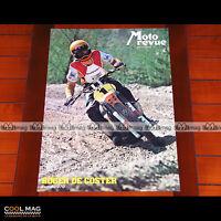 ROGER DE COSTER sur SUZUKI 370 en 1977 - Poster Pilote Moto CROSS #PM1358