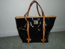 Dooney & Bourke Patent Leather Tote Bag