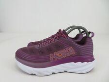 Hoka One One Bondi 6 Purple Running Athletic Shoes Womens Size 7.5, Worn Twice
