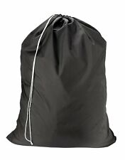 Nylon Laundry Bag - Black 22 x 32 - Sturdy rip and tear resista. Free Shipping