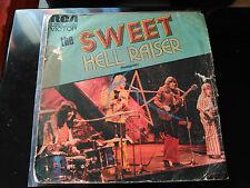 SINGLE THE SWEET - HELL RAISER - RCA SPAIN 1973 - READ DESCRIPTION