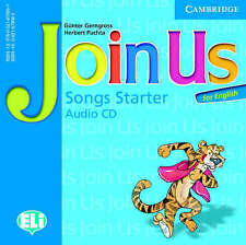 Join Us for English Starter Songs Audio CD (Join in), Puchta, Herbert, Gerngross
