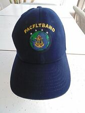 USN NAVY PACIFIC FLEET BAND PACFLTBAND PEARL HARBOR CREW'S BALL CAP BALLCAP HAT