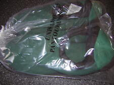 NIB New Men's Green Slippers House shoes - Size 11 12 (XXL) Indoor Outdoor Sole