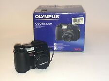 Olympus Digital Camera C-5050 with 3x Optical Zoom, Battery charger & Manuals