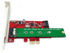 SINTECH 2010-2011 macbook SSD+SATA 3 PCI-e express 1X controler Card ASM1061