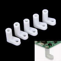 10/20/50pcs fixed plastic PCB mounting feet 20mm L type feet without Screws.yu