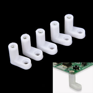 10/20/50pcs fixed plastic PCB mounting feet 20mm L type feet without Screws
