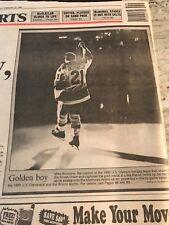 1980 MIRACLE ON ICE-1980 U.S. OLYMPIC HOCKEY TEAM GAME VS. BRUINS ALUMNI-2/27/95