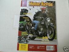 MOTOR REVUE 2007-01 POSTER MAICO MOBIL,ARIEL NH 350,NSU MAX,KAWA CROSSERS MX,XS