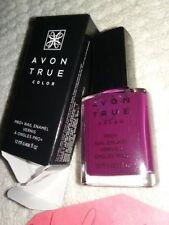 BERRY SMOOTH PRO+ NAIL ENAMEL POLISH AVON True Color Manicure/Pedicure NEW BOXED