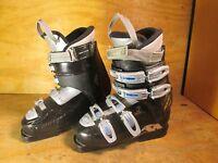 Nordica Easy Move W Ski Boots 24.5 Mondo , (Black/Blue) - Lot BA1
