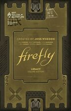 Firefly Legacy Deluxe Edition Hardcover Boom! Comics Joss Whedon Hc Srp $75