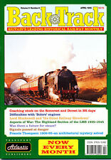 Back Track Rail April Monthly Transportation Magazines