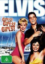 ELVIS [Presley] Girls, Girls, Girls DVD Movie MUSIC MUSICALS BRAND NEW R4