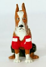 2004 HOMIES Puncher Boxer dog figurine from Dogpound series 1