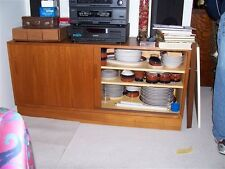 Well Constructed HUNDEVAD TEAK CREDENZA circa 1985 In Great Condition