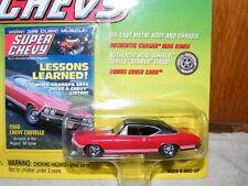 2000 Johnny Lightning 1:64 Super Chevy 1968 Chevy Chevelle Bonus Cover Card NIP
