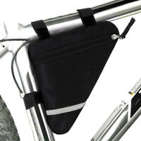 Waterproof Triangle Cycling Bikes Bicycle Front Tube Frame Pouch Saddle Bag dser