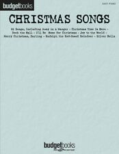 Christmas Songs Sheet Music Budget Books Easy Piano SongBook New 000311764