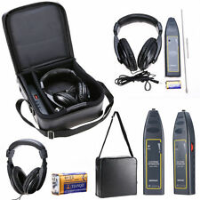 Leak Detector Water Pipe Electronic Stethoscope Earphone Detection Equipment Kit