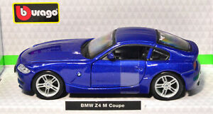 BMW Z4 M Coupe Blue scale 1:3 2 From Bburago